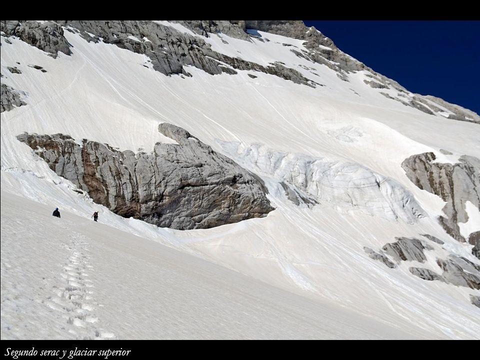 Segundo serac y glaciar superior