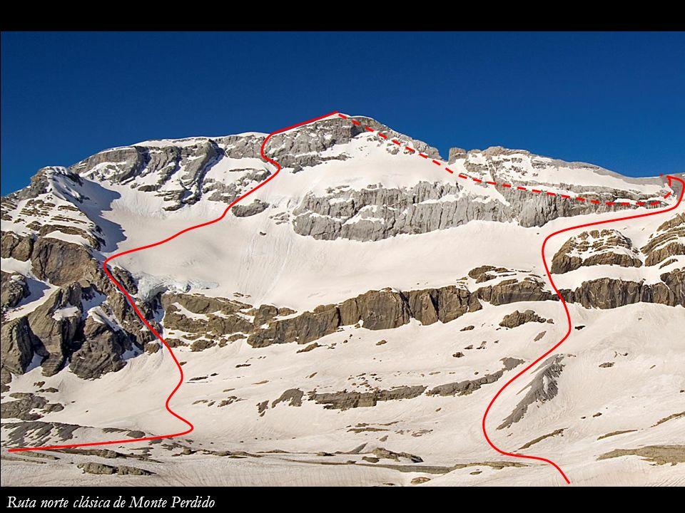 Ruta norte clásica de Monte Perdido