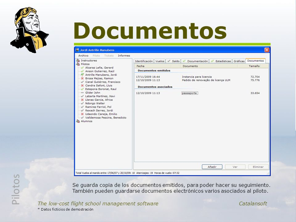 Documentos Pilotos.