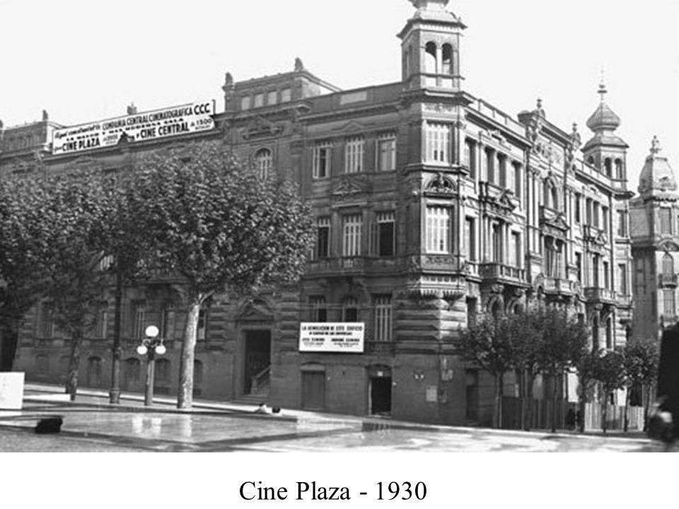 Cine Plaza - 1930