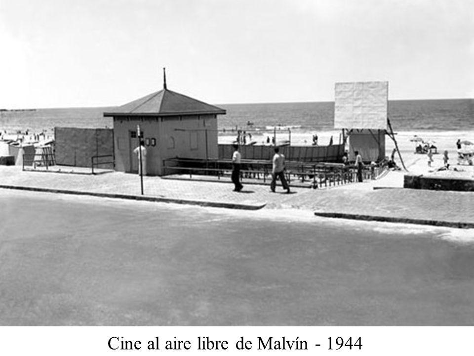 Cine al aire libre de Malvín - 1944