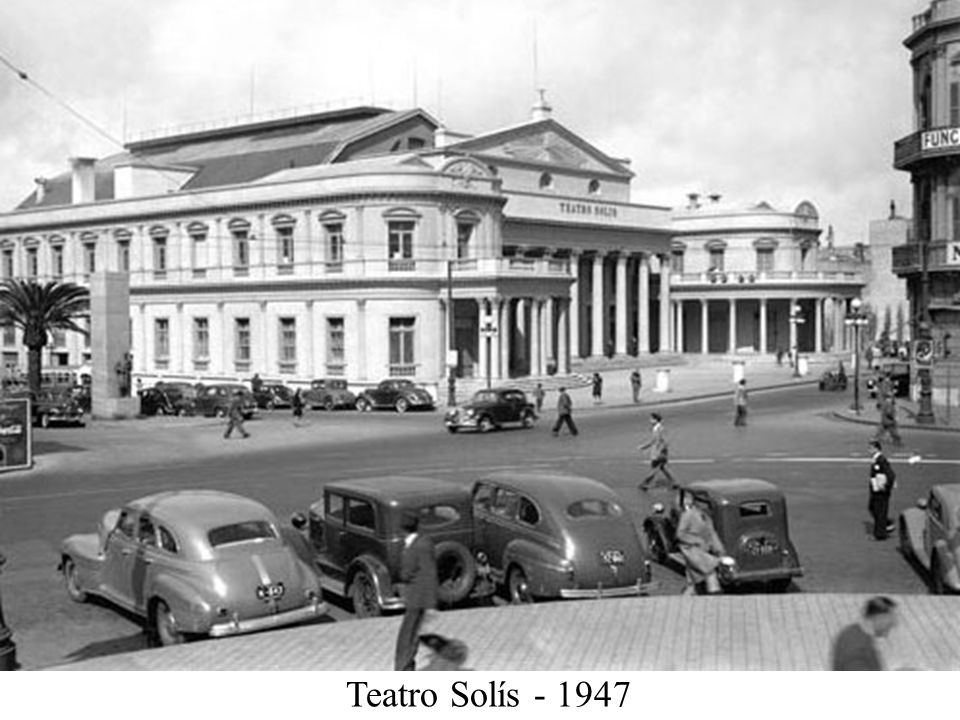 Teatro Solís - 1947