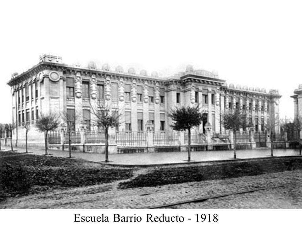 Escuela Barrio Reducto - 1918