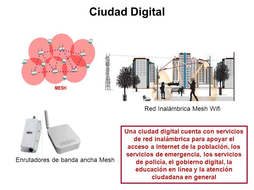 Ciudad Digital Red Inalámbrica Mesh Wifi