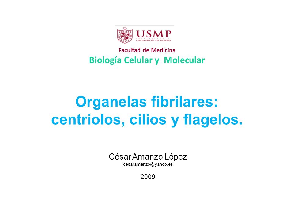 Facultad de Medicina Biología Celular y Molecular