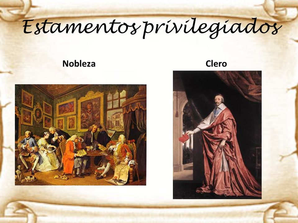 Estamentos privilegiados