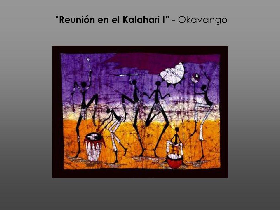 Reunión en el Kalahari I - Okavango