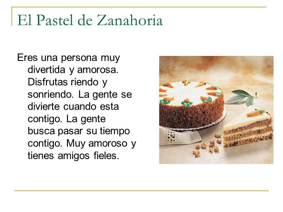 El Pastel de Zanahoria