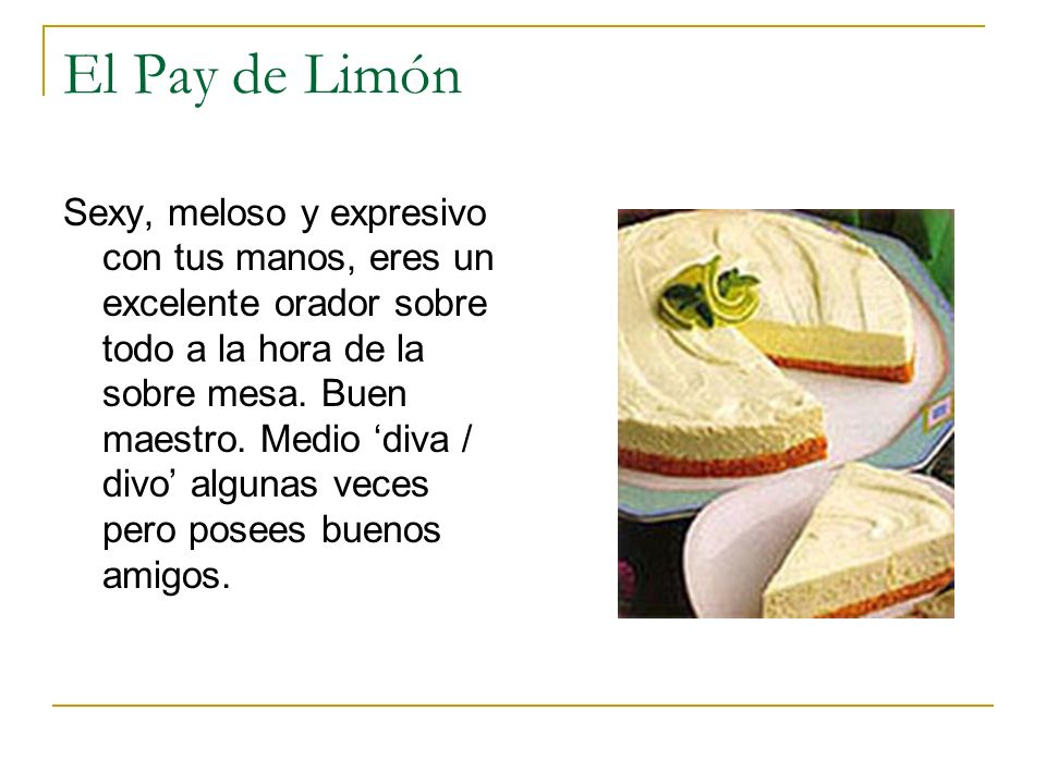 El Pay de Limón