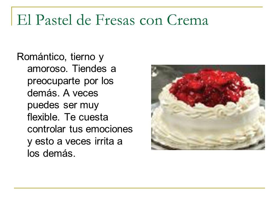 El Pastel de Fresas con Crema