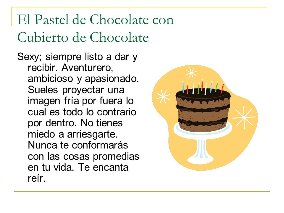 El Pastel de Chocolate con Cubierto de Chocolate
