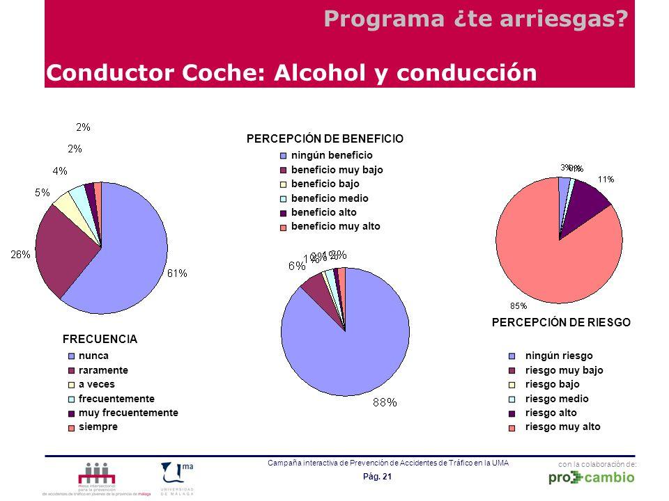Conductor Coche: Alcohol y conducción
