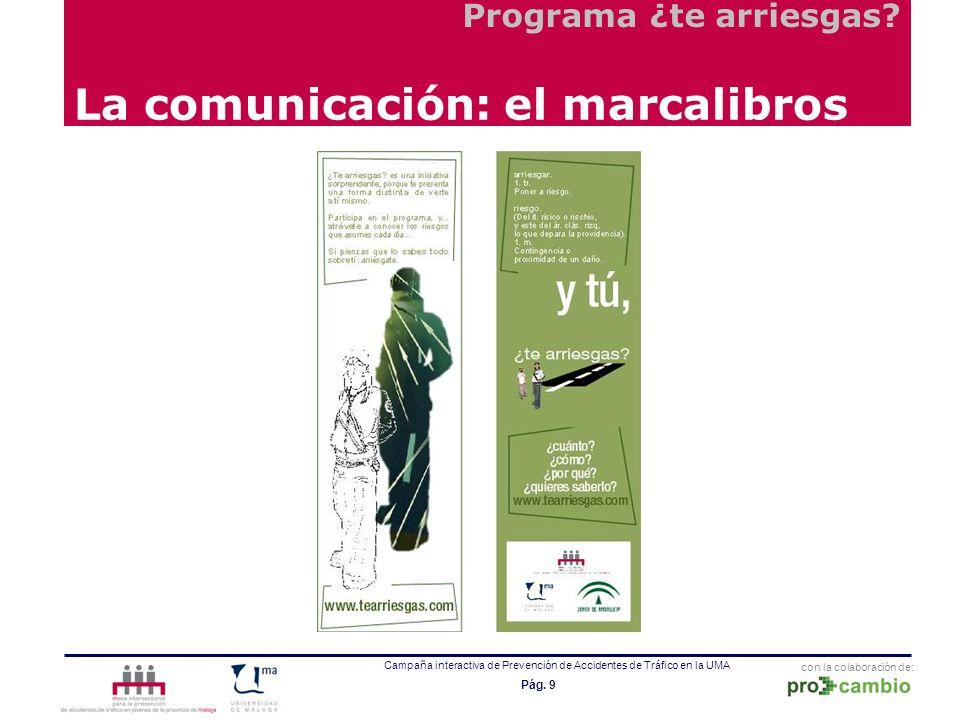 La comunicación: el marcalibros