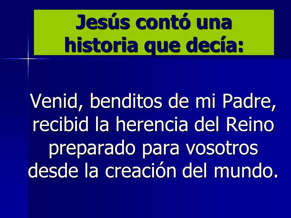Jesús contó una historia que decía:
