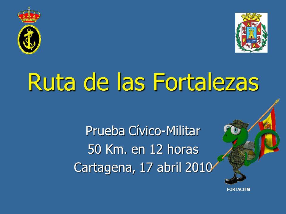 Prueba Cívico-Militar 50 Km. en 12 horas Cartagena, 17 abril 2010