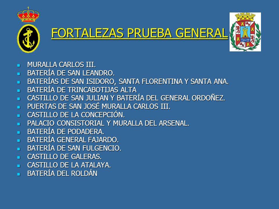 FORTALEZAS PRUEBA GENERAL