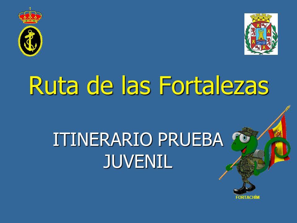 ITINERARIO PRUEBA JUVENIL