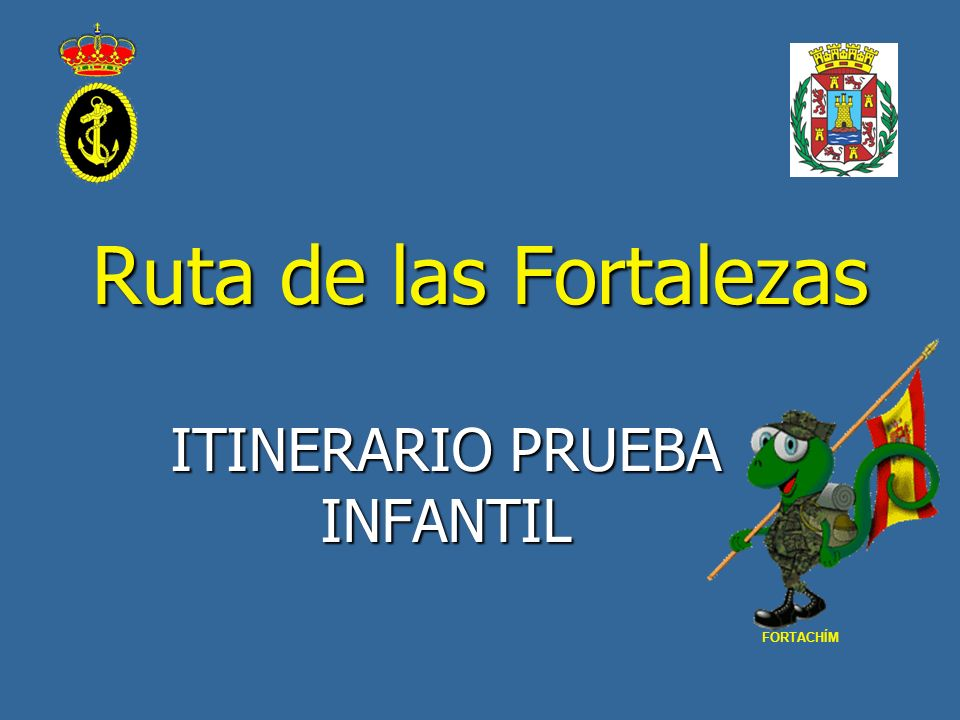 ITINERARIO PRUEBA INFANTIL