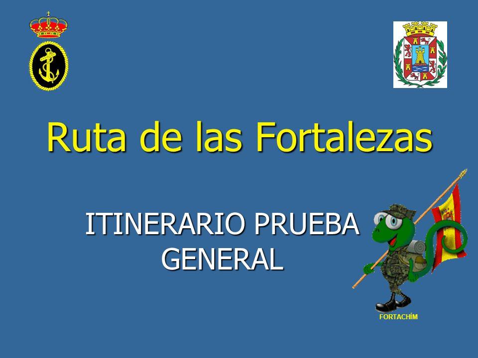 ITINERARIO PRUEBA GENERAL