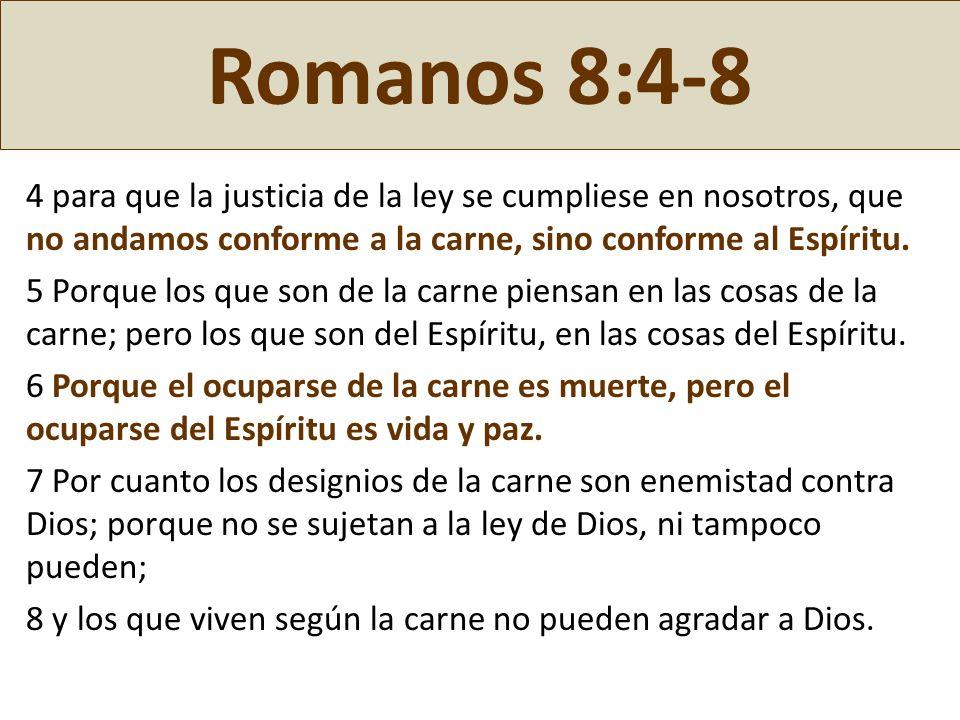 Romanos 8:4-8