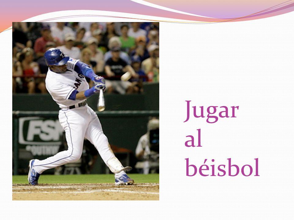 Jugar al béisbol