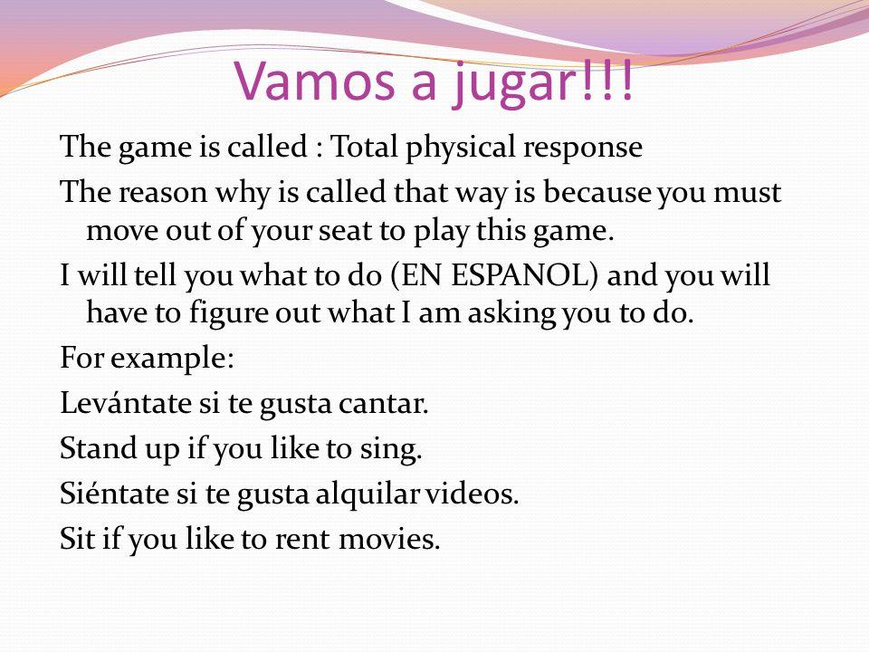 Vamos a jugar!!!