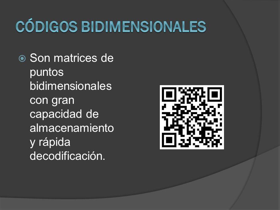 Códigos bidimensionales