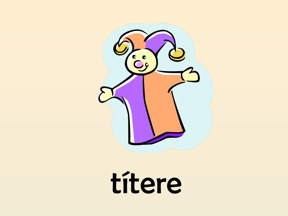 títere