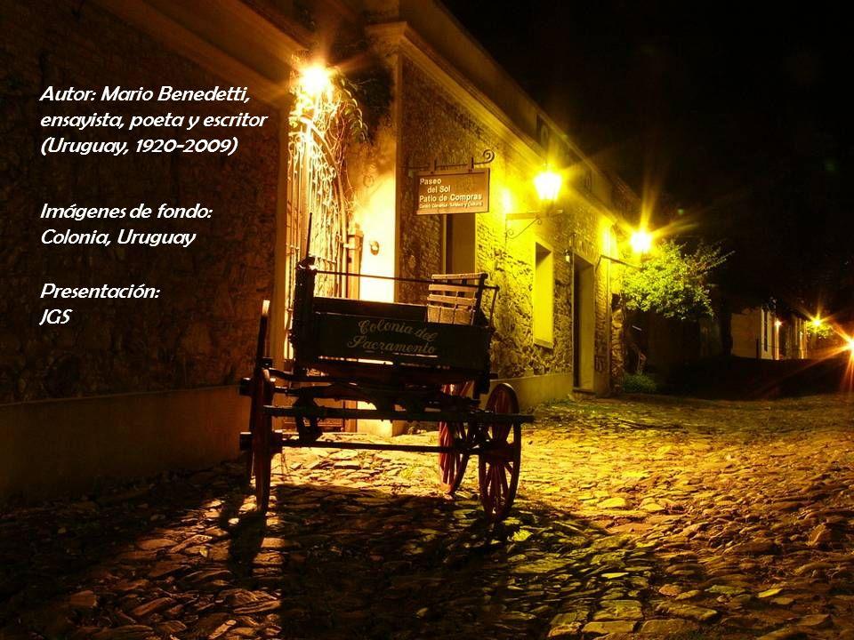 Autor: Mario Benedetti,