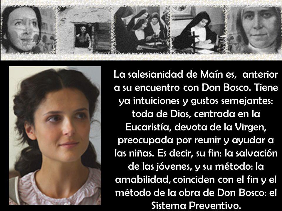 La salesianidad de Maín es, anterior a su encuentro con Don Bosco