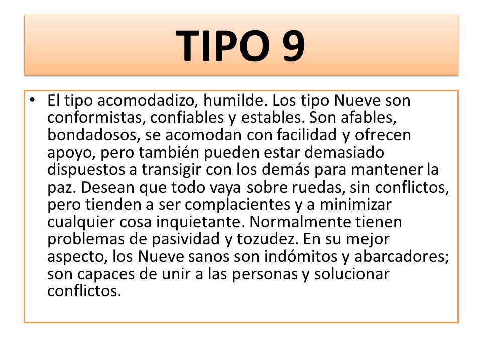 TIPO 9