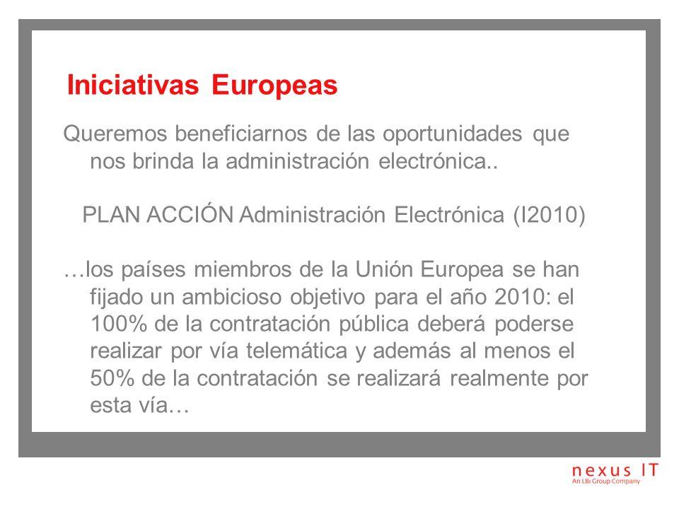 PLAN ACCIÓN Administración Electrónica (I2010)