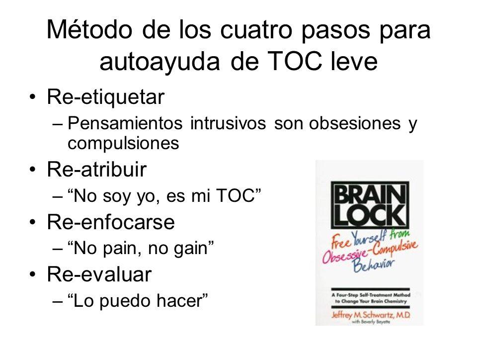 Método de los cuatro pasos para autoayuda de TOC leve