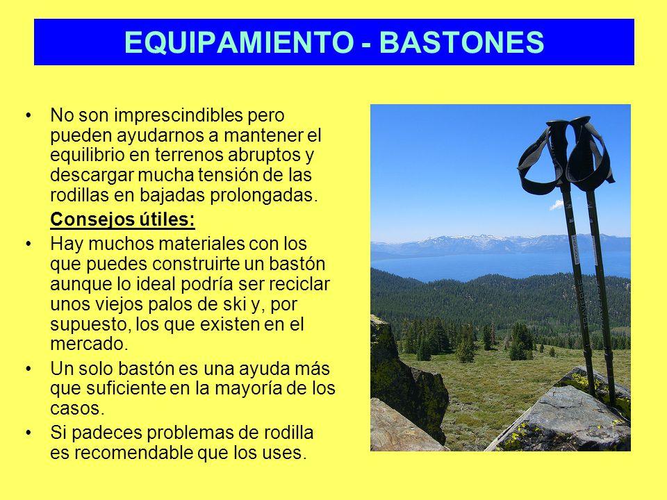 EQUIPAMIENTO - BASTONES