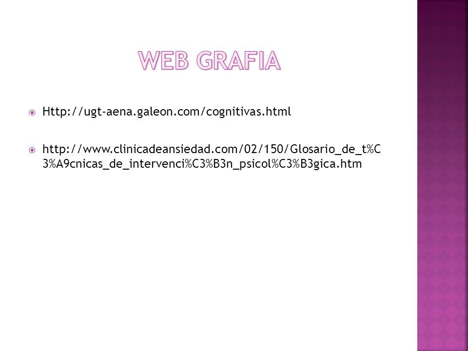 WEB GRAFIA Http://ugt-aena.galeon.com/cognitivas.html