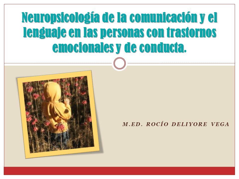 M.Ed. Rocío Deliyore Vega
