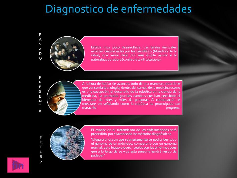 Diagnostico de enfermedades