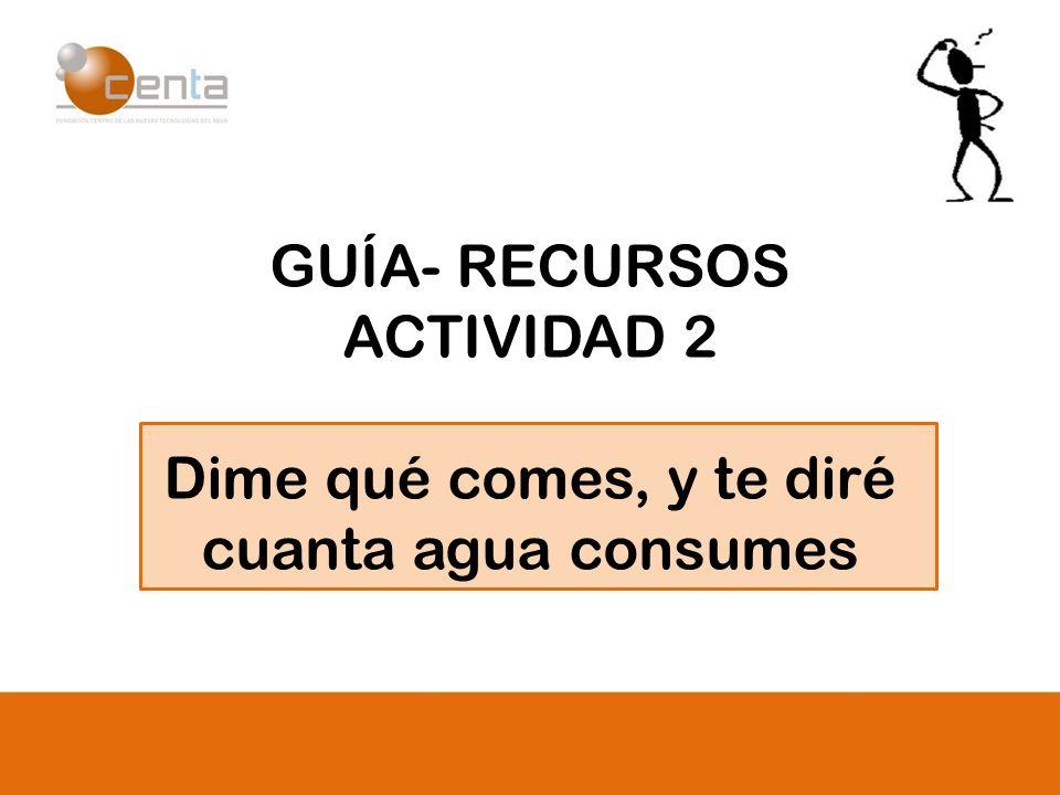 GUÍA- RECURSOS ACTIVIDAD 2