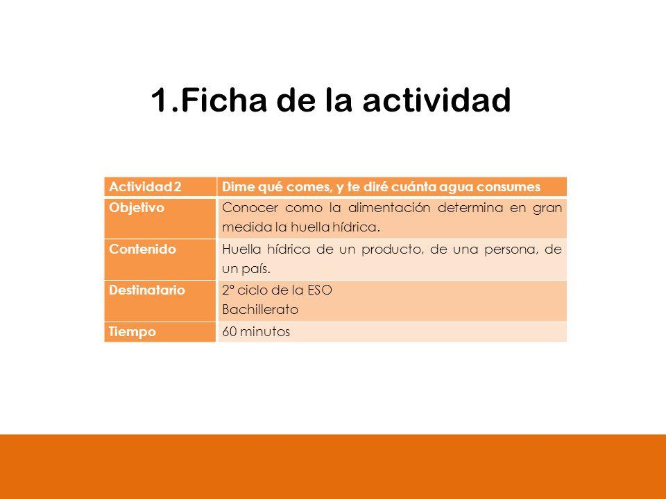 1.Ficha de la actividad Actividad 2