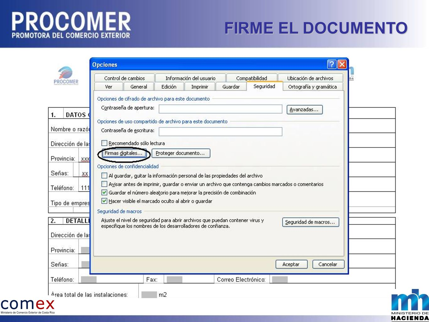FIRME EL DOCUMENTO