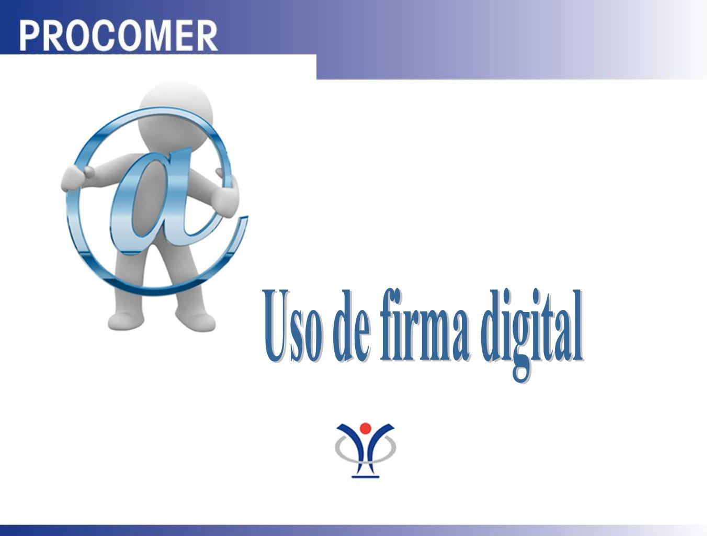 Uso de firma digital C H A S G R A C I A S