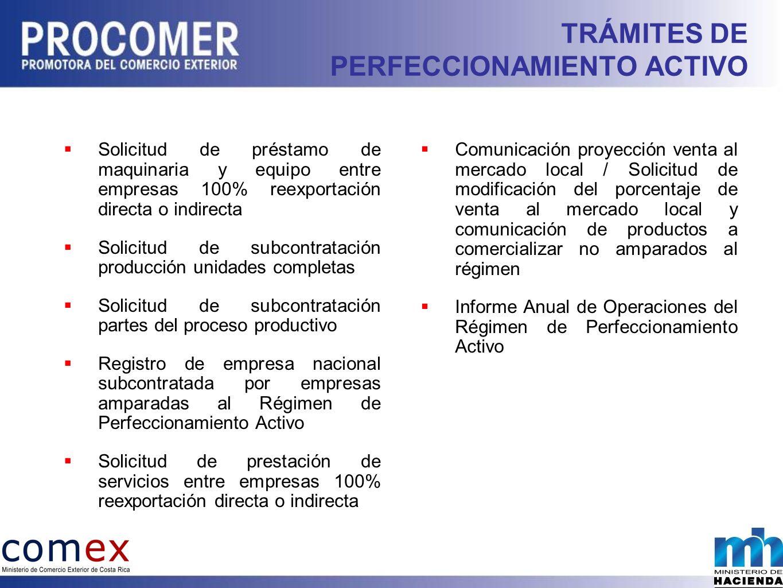 TRÁMITES DE PERFECCIONAMIENTO ACTIVO