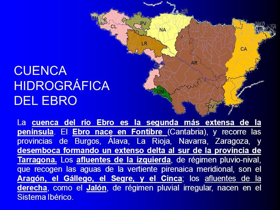 CUENCA HIDROGRÁFICA DEL EBRO