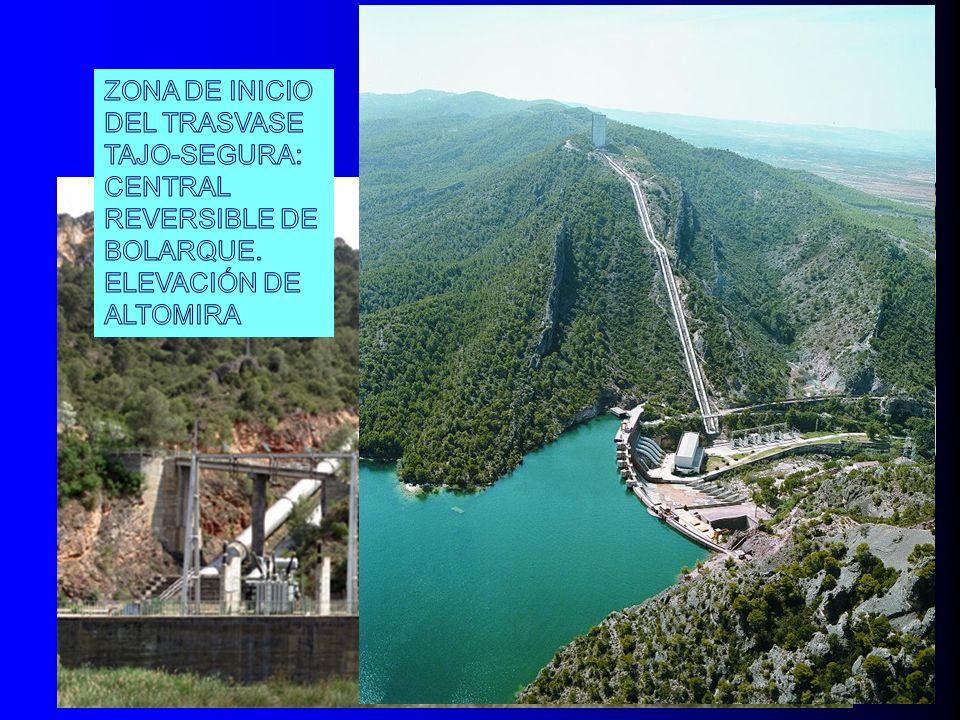 ZONA DE INICIO DEL TRASVASE