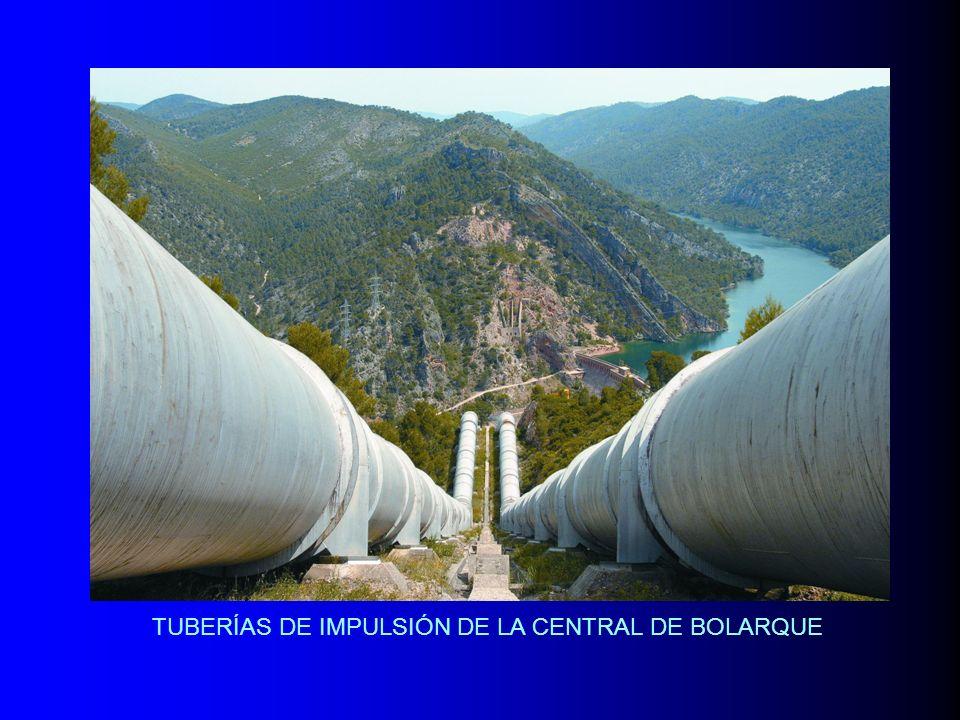 TUBERÍAS DE IMPULSIÓN DE LA CENTRAL DE BOLARQUE