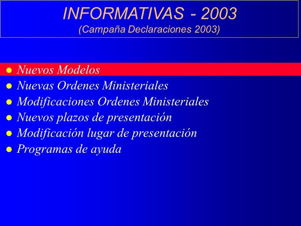 (Campaña Declaraciones 2003)