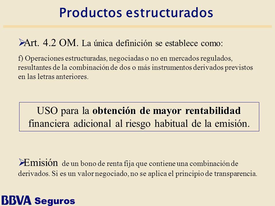 Productos estructurados