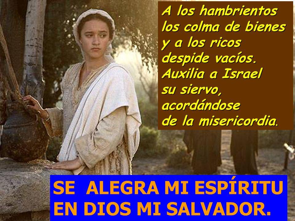 SE ALEGRA MI ESPÍRITU EN DIOS MI SALVADOR.