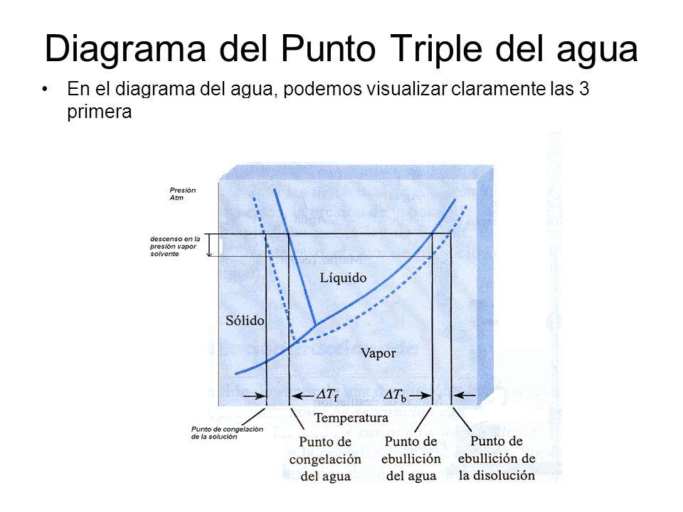 Diagrama del Punto Triple del agua