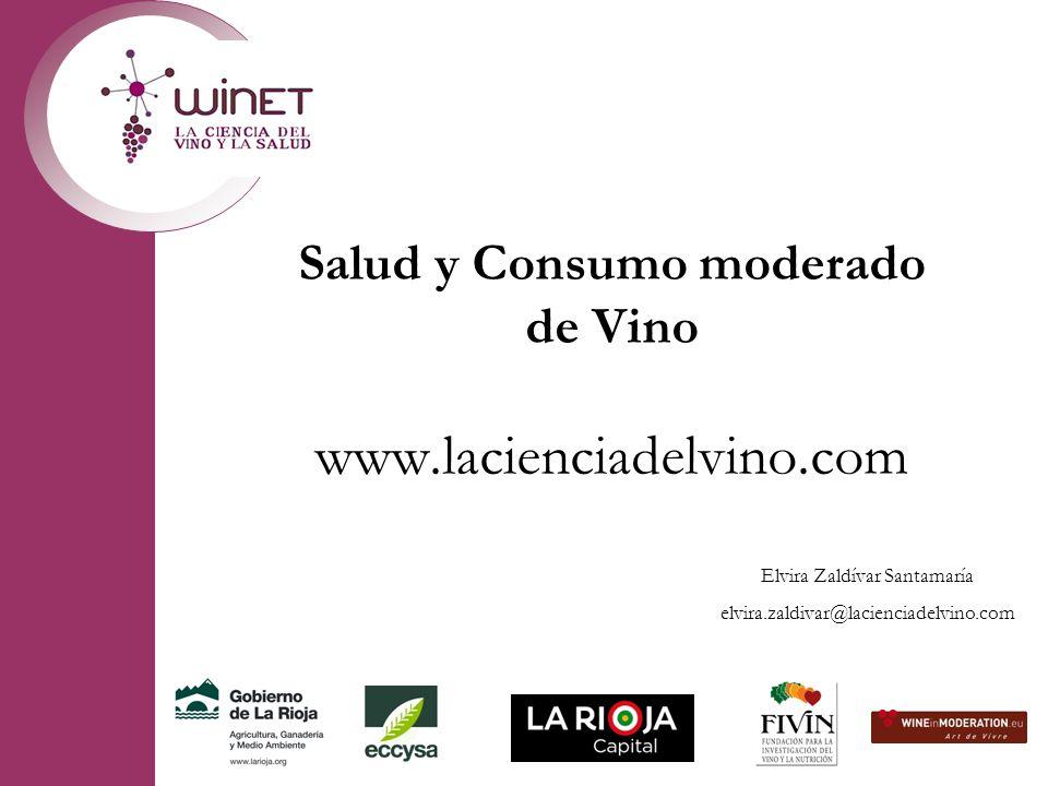 Salud y Consumo moderado de Vino www.lacienciadelvino.com